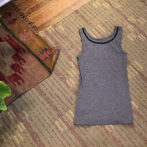 Like New Loft Striped Tank Top Size Small